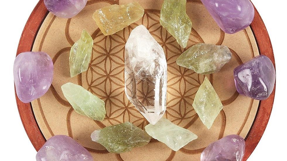 Healing Love Crystal Grid