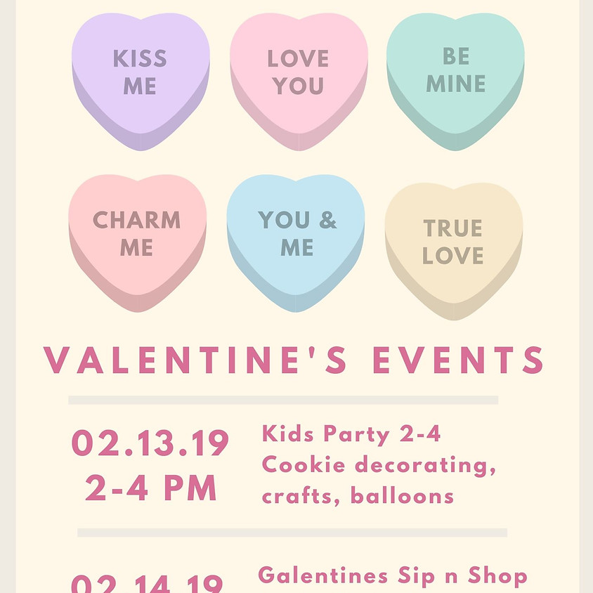 Galentine's Event and Pop up!