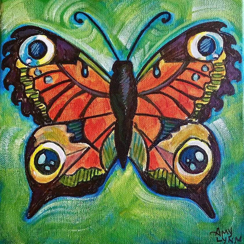 Butterfly Paint Party