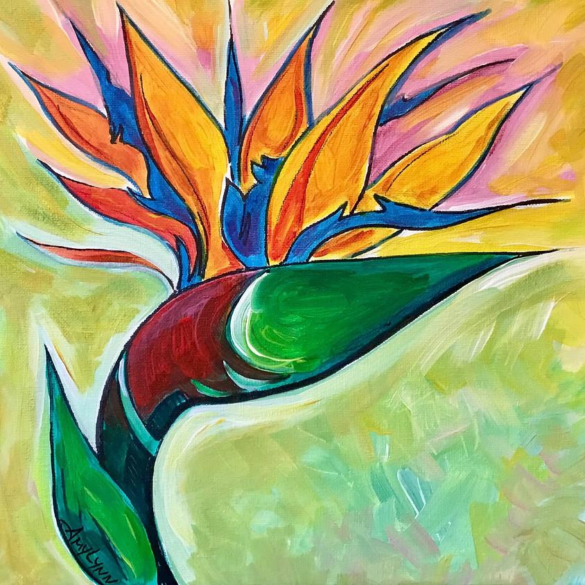 Bird of Paradise Paint Party with Amy Lynn Stevenson