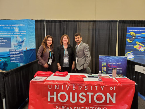 At the Subsea Tieback Conference, San Antonio. February 2020