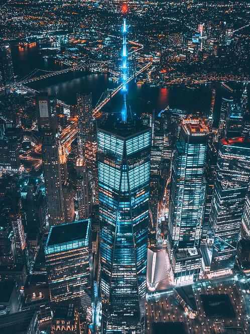 NYC Night By 7th.era
