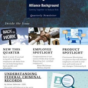 Alliance Insider: July 2020