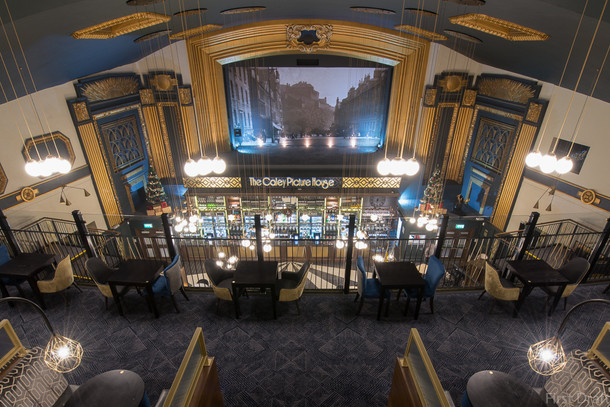 The Caley Picture House entered into 2017 Northern Design Awards