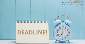 Deadline! Compensatie transitievergoeding: 1 oktober!