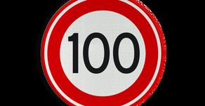 Maximumsnelheid naar 100 km/h!