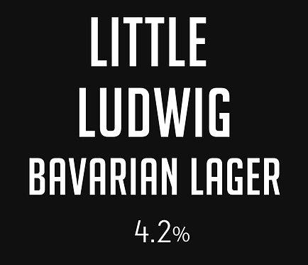 Little Ludwig Bavarian Lager SQUEALER Fill (950ml)