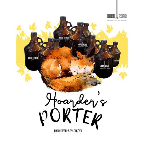 Hoarder's Porter GROWLER FILL 1.9L