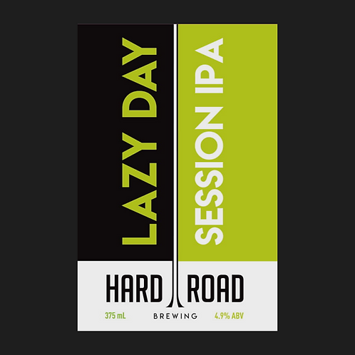Lazy Day Session IPA 4.9%ABV 16-Pack 375ml Cans