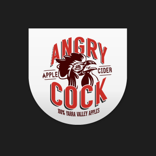 Angry Cock Apple Cider 5%ABV - GROWLER FILL 1.9L