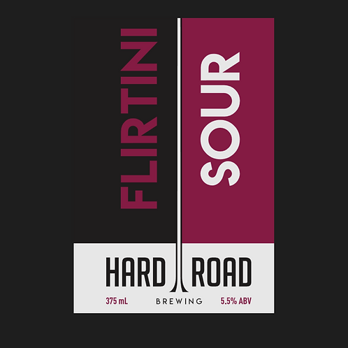 Flirtini Sour 5.5%ABV 16-Pack 375ml Cans