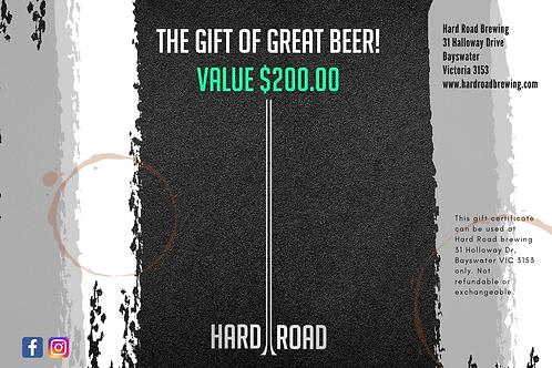 Online Gift of Great Beer $200