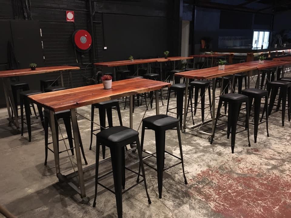 Handmade tables