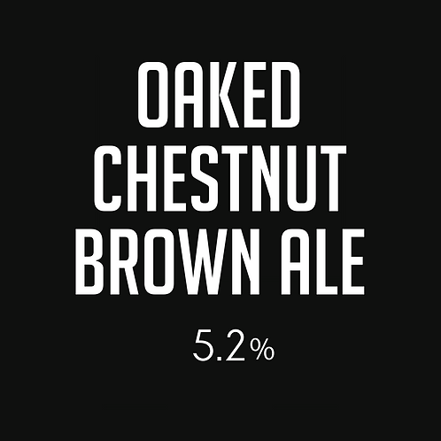 Oaked Chestnut Brown Ale  GROWLER Fill (1.9L)