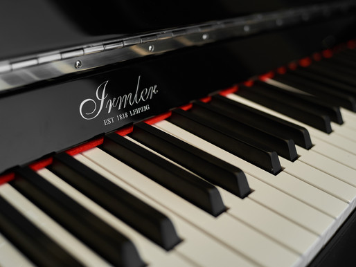 The Grand Signature Presents an Upright Piano with a Luxurious Design