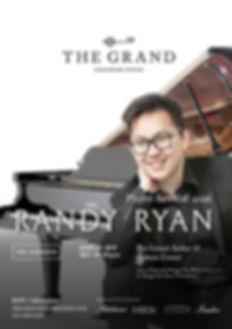 RANDY RYAN PIANO RECITAL at THE GRAND SIGNATURE PIANO
