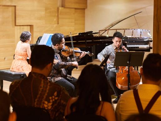 Piano Trio Recital: Pertunjukan Biga, Bryant dan Carla Memesona