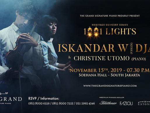 Iskandar Widjaja: The Much Anticipated Violin Virtuoso at Soehanna Hall