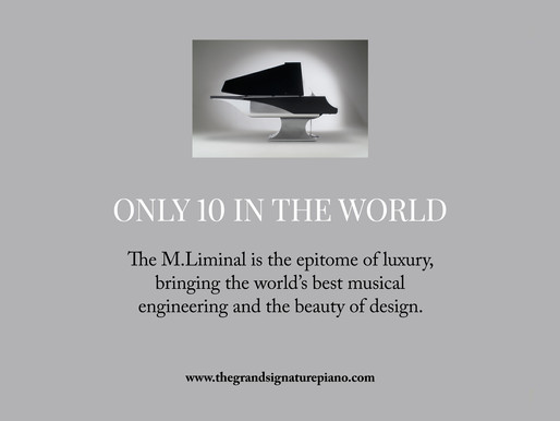 The Grand Signature Piano's Crown Jewel: The Limited Edition Fazioli M.Liminal