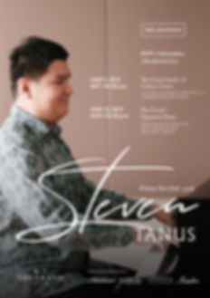 STEVEN TANUS PIANO RECITAL at THE GRAND SIGNATURE PIANO