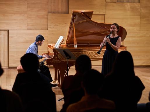 Kolaborasikan Permainan Piano dan Klarinet, Duo Danetri Tampil Atraktif