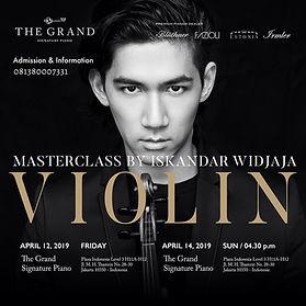 Masterclass Iskandar Widjaja