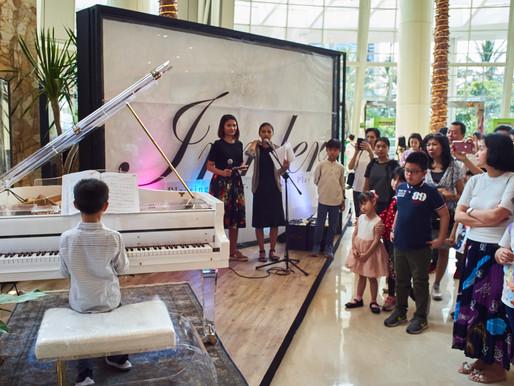 100 Murid dan Guru Sekolah Musik Jajal Piano Irmler Terbaru, Bagaimana Kesan Pertamanya?