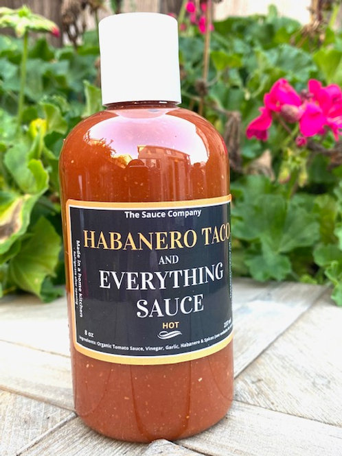 8oz Habanero Taco & Everything Sauce