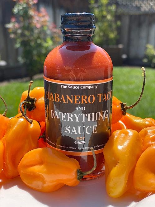 4oz Habanero Taco Sauce