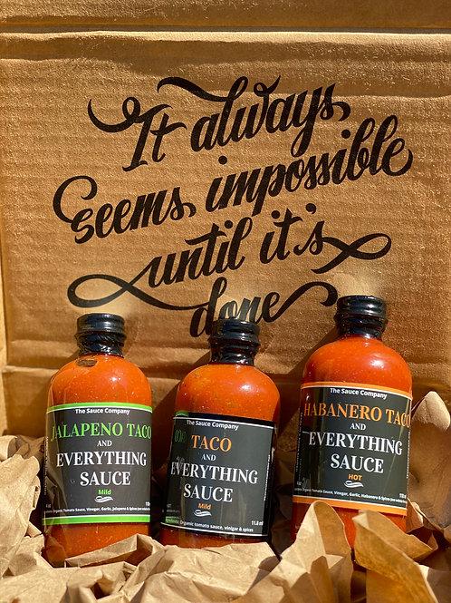 3 Degree Sauce Kit
