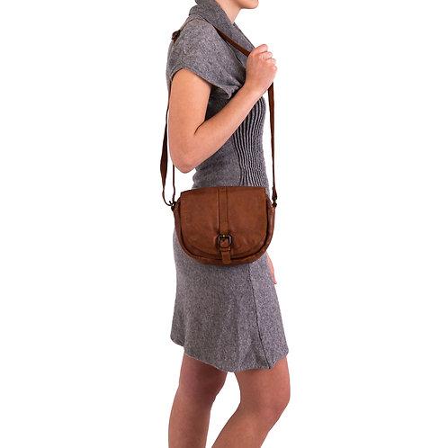 Gianni Conti leather cross body bag
