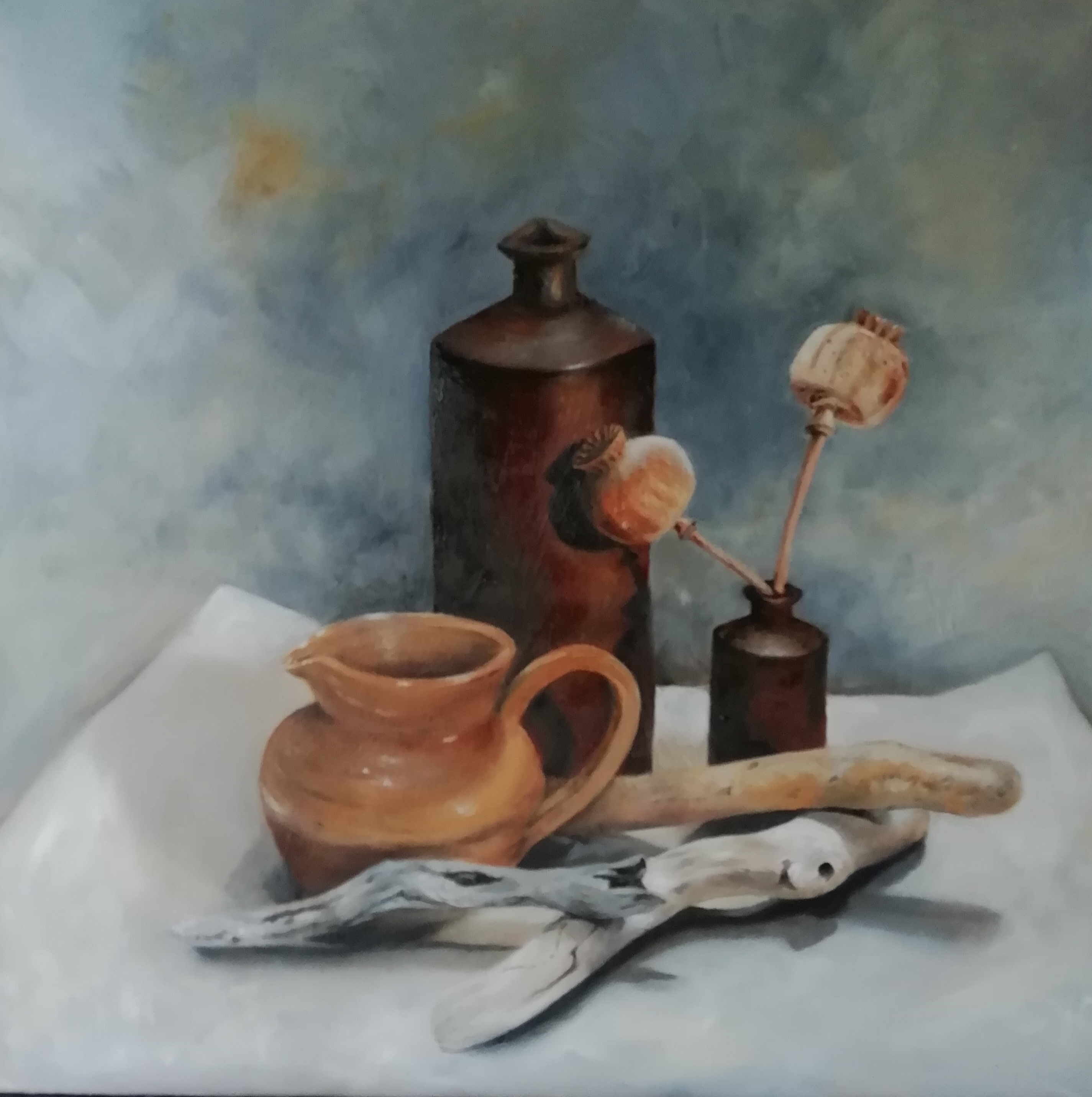 'Jugs & Things' oil