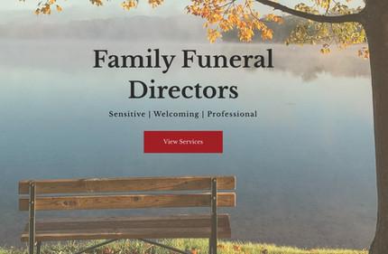 K.E.ROLFE Family Funeral Directors, Website designed by Signpost Media
