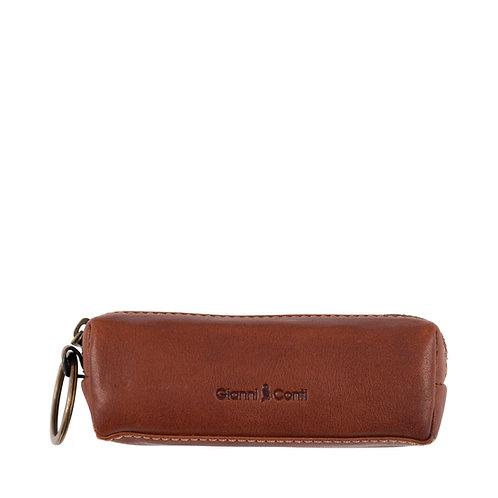 Gianni Conti leather keyring purse