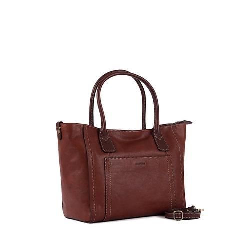 Gianni Conti leather tote bag