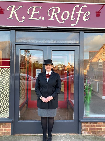 Kerry Rolfe of KE Rolfe Funeral Director