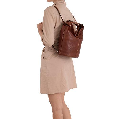 Gianni Conti convertible slouchy bucket handbag