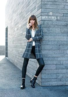 Marble  Stylish Hooded Jacket