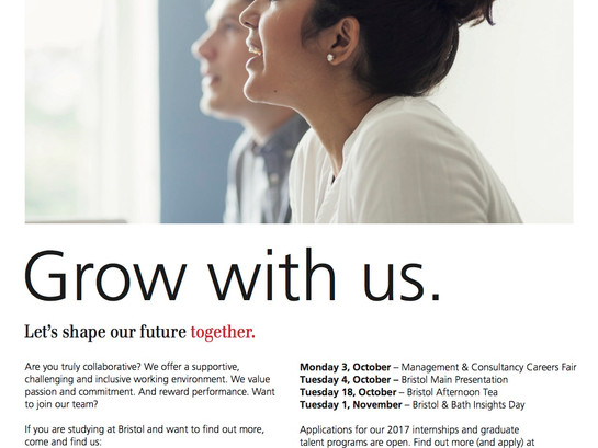 UBS Autumn Events