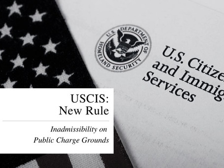 PUBLIC CHARGE RULE STOPPED BY U.S. DISTRICT COURT