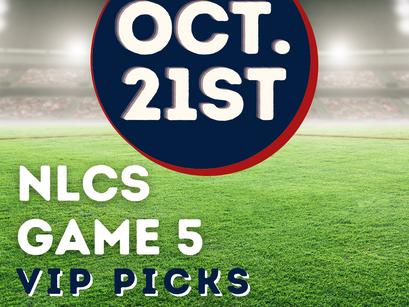 Braves vs Dodgers NLCS Game 5 Picks