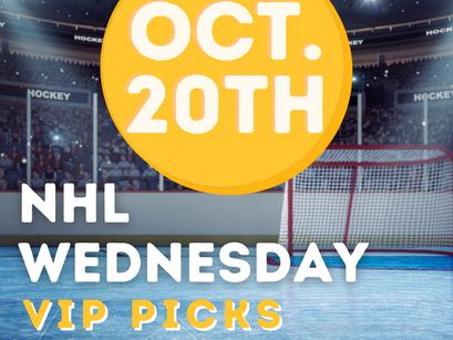 NHL Picks 10/20