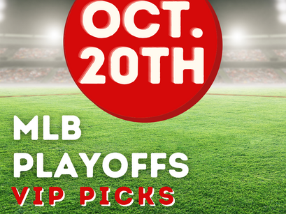 MLB Playoffs Picks 10/20