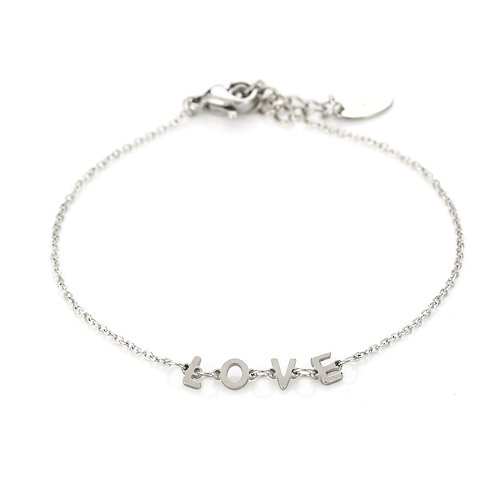 Armband Love Zilver