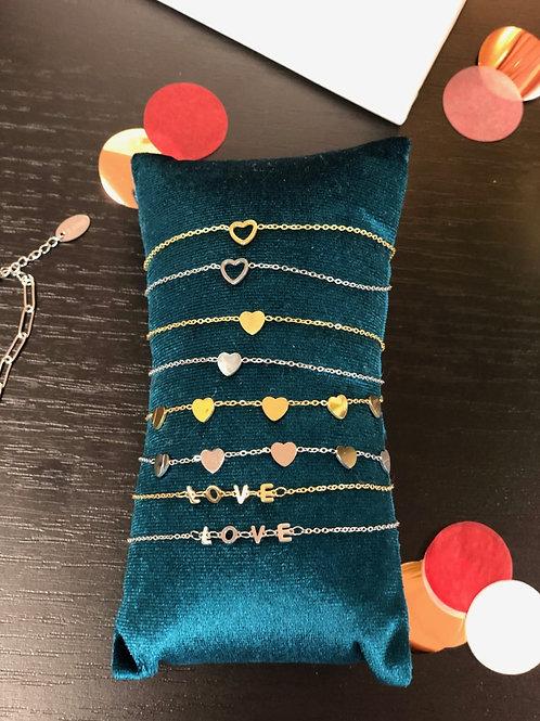 Armband Klein Hartje Goud