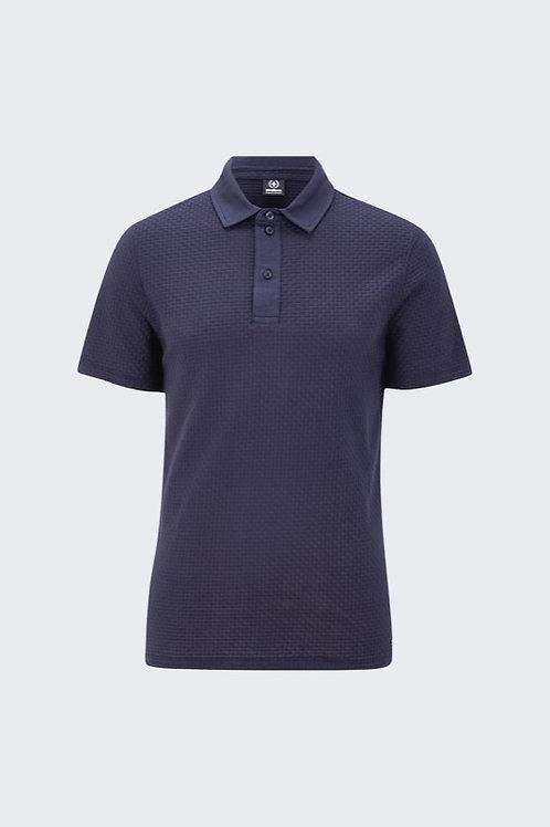 Polo-Shirt Fisher, dunkelblau