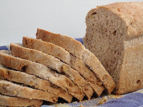 Pan en rebanadas de salvado