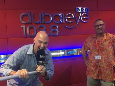 Weekly Dubai Eye 103.8 Nightline Call-in Show w/ James and James
