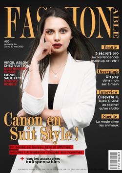 Couverture magazine mode
