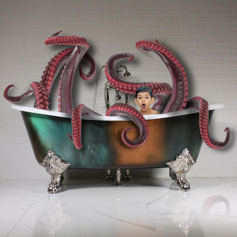 Ethan et pieuvre